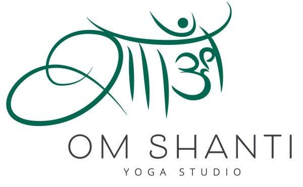 Om Shanti Yoga Studio Caloundra Logo